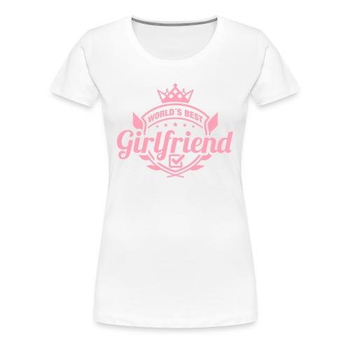 Best_girlfriend_v2 - Women's Premium T-Shirt