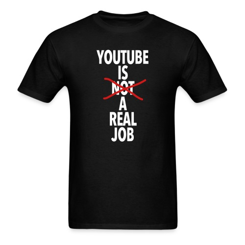 Real Job - Men's T-Shirt