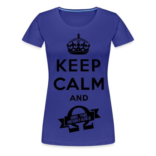 Join The Resistance T-Shirt! - Women's Premium T-Shirt