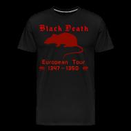 T-Shirts ~ Men's Premium T-Shirt ~ Double-sided BLACK DEATH Tour Shirt