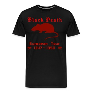 Double-sided BLACK DEATH Tour Shirt - Men's Premium T-Shirt