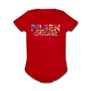 Pilsen Chicago - Short Sleeve Baby Bodysuit