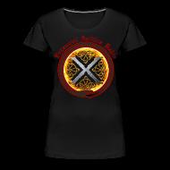 T-Shirts ~ Women's Premium T-Shirt ~ Decennial Gothica Radio Logo