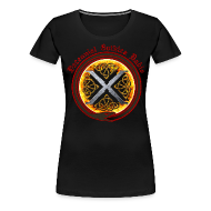 Women's T-Shirts ~ Women's Premium T-Shirt ~ Decennial Gothica Radio Logo