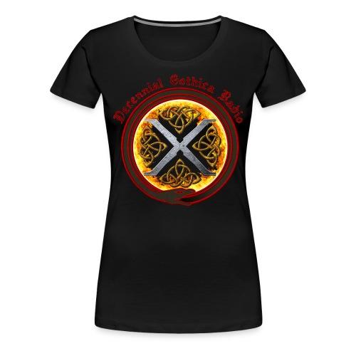 Decennial Gothica Radio Logo - Women's Premium T-Shirt