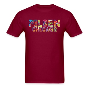 Pilsen Chicago - Men's T-Shirt
