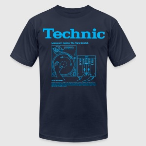 technical T-Shirts - Men's T-Shirt by American Apparel