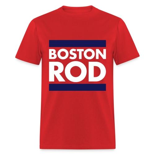 Rodney's Custom BOSTON ROD Men's T-Shirt Themed from Survivor Worlds Apart - Men's T-Shirt