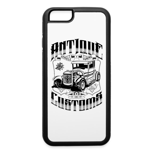 pretty nice 7565d 8875a Hot Rod - Antique Customs (black) | iPhone 6/6s Rubber Case