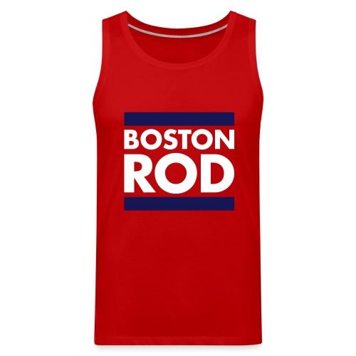 Rodney's Custom BOSTON ROD Men's Tank Top Themed from Survivor Worlds Apart - Men's Premium Tank