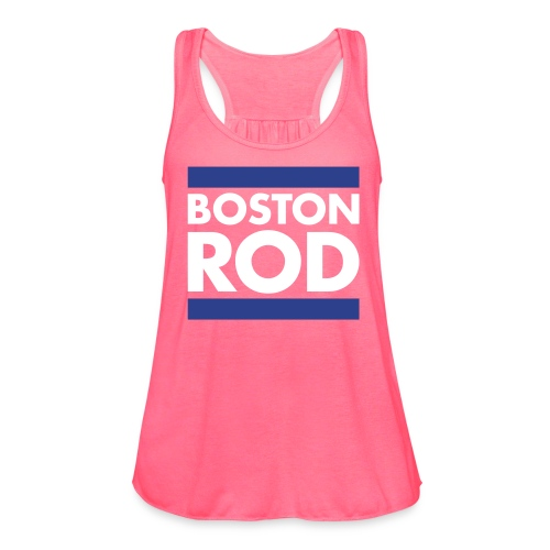 Rodney's Custom BOSTON ROD Woman's Tank Top Themed from Survivor Worlds Apart - Women's Flowy Tank Top by Bella