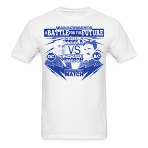 Tesla Vs Edison shirt - Men's T-Shirt
