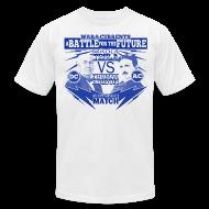 T-Shirts ~ Men's T-Shirt by American Apparel ~ Tesla Vs Edison shirt