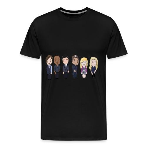 BAU Criminal Minds - Men's Premium T-Shirt