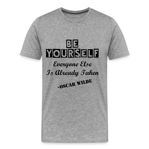 Be yourself - Men's Premium T-Shirt