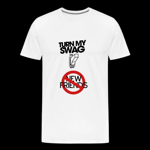Turning on The swag - Men's Premium T-Shirt