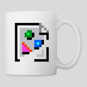 Broken Graphic / Missing Image Mug - Coffee/Tea Mug