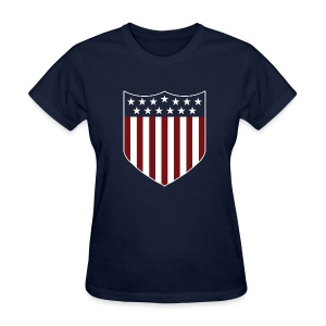 13 Stars/13 Stripes - Ladies' Blue - Women's T-Shirt