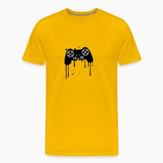 controller graffiti drip klex color splash T-Shirts