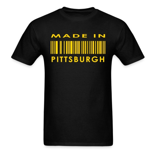 Made in Pittsburgh Tee - Men's T-Shirt