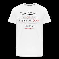 T-Shirts ~ Men's Premium T-Shirt ~ KISS THE SON (Multicolor on white) Version 1
