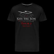 T-Shirts ~ Men's Premium T-Shirt ~ KISS THE SON (Multicolor on black) Version 1