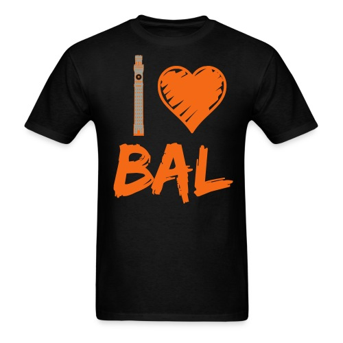 I (Bromo Tower) Love Baltimore - Men's T-Shirt