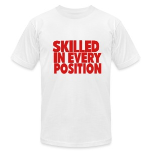 Skilled Position Tee - Men's T-Shirt by American Apparel