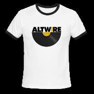T-Shirts ~ Men's Ringer T-Shirt ~ AltWire Vinyl Ringer (Men's)