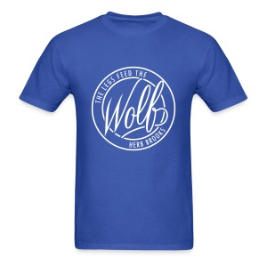Feed The Wolf Tee - Men's T-Shirt