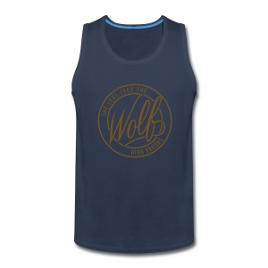 Feed The Wolf (Gold) Tank - Men's Premium Tank