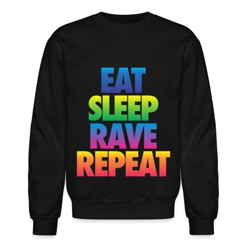 Eat Sleep Rave Repeat - Crewneck Sweatshirt
