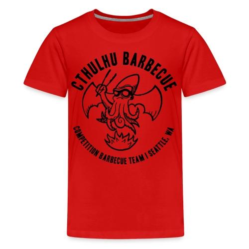 Kids's Black Logo - Kids' Premium T-Shirt