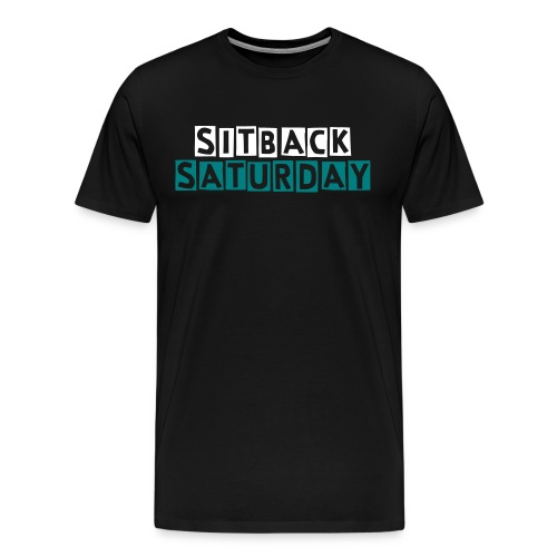 setback saturday kids T-shirt - Men's Premium T-Shirt