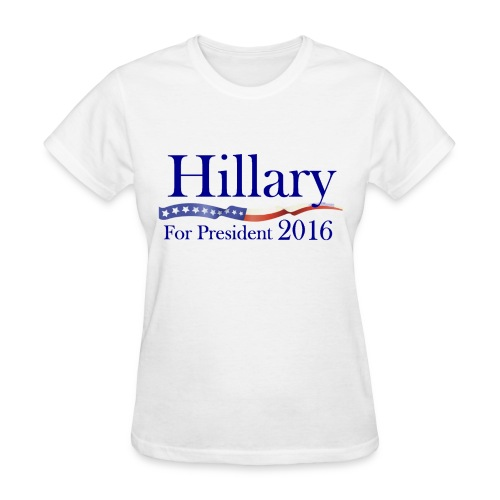 Hillary Clinton for President (Campaign 2016) - Women's T-Shirt