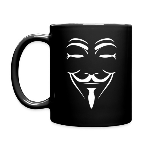 Anonymous Mask Shape - Full Color Mug
