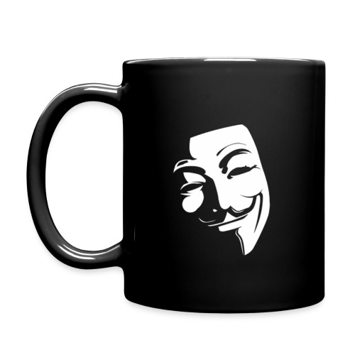 Anonymous Face Shadow - Full Color Mug