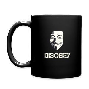 Anonymous Disobey  - Full Color Mug