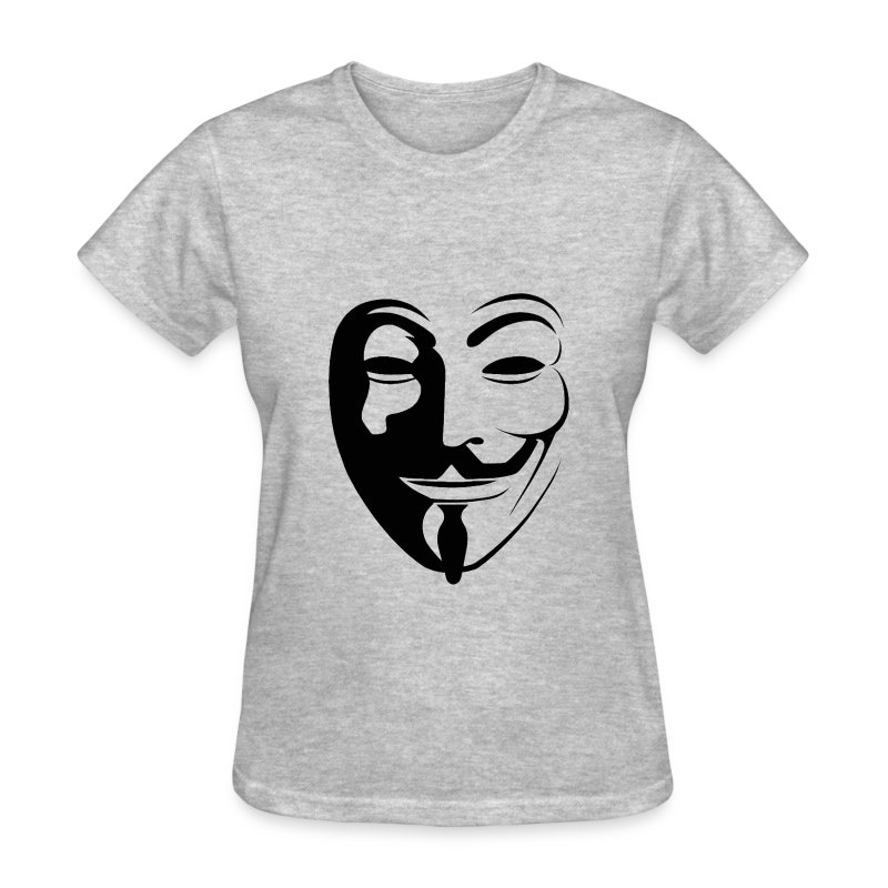 Anonymous Face Round - WOMEN - Women's T-Shirt