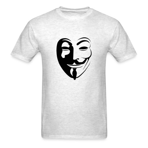 Anonymous Face Round - MEN - Men's T-Shirt