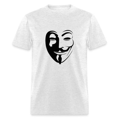 Anonymous Face Round - MEN - Men's T-Shirt