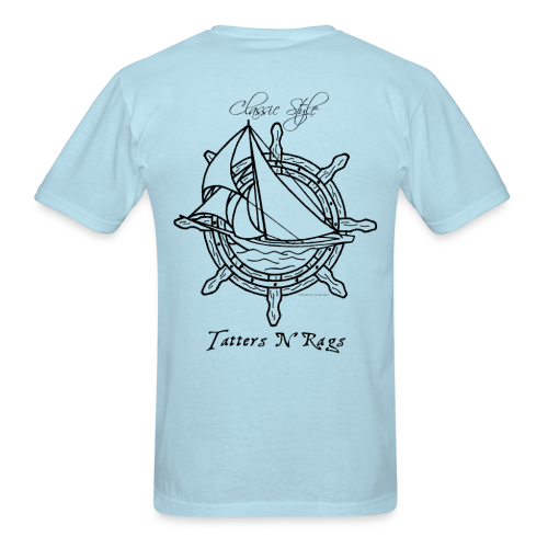 Classic Style With the Wind - Men's T-Shirt