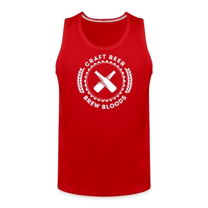 Brew Bloods Logo Men's T-Shirt - Men's Premium Tank