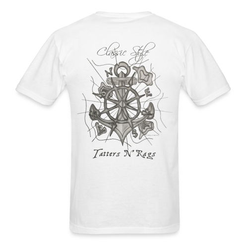 Classic Style Nautical Bearing - Men's T-Shirt