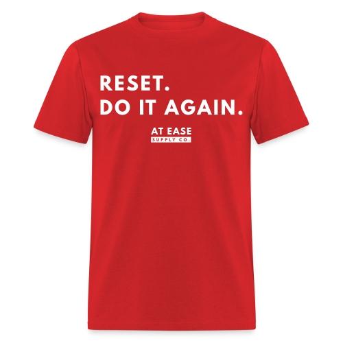 Reset. - Men's T-Shirt