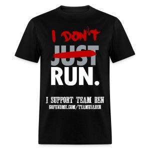 I Don't Run Sponsor Men's Cut Tee - Men's T-Shirt