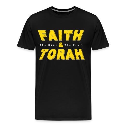 Faith And Torah - Men's Premium T-Shirt