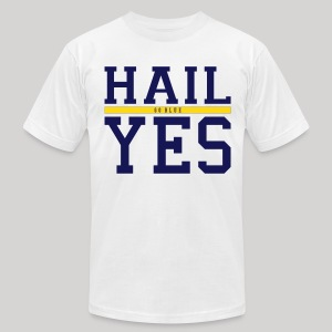 Hail Yes - Men's T-Shirt by American Apparel