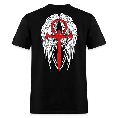 Skinbound Wings & Ankh T-Shirt - Men's T-Shirt