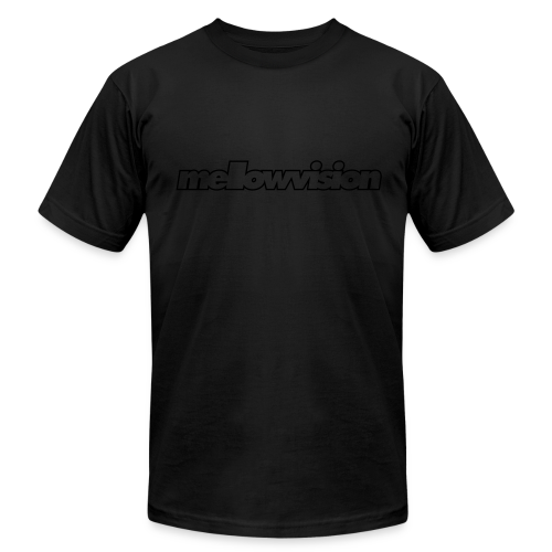 Blackout mellowvision - Men's T-Shirt by American Apparel